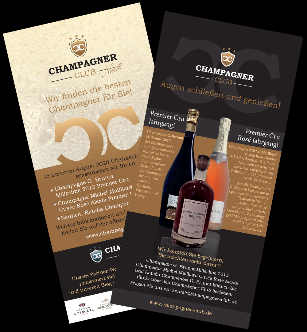 Champagner Club Paket August 2020